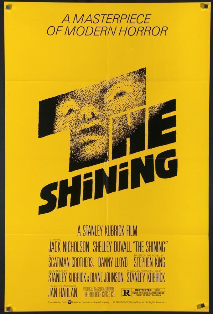 Poster for The Shining (1980)