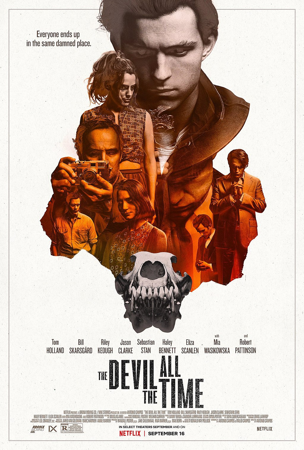Poster for The Devil All the Time (2020)