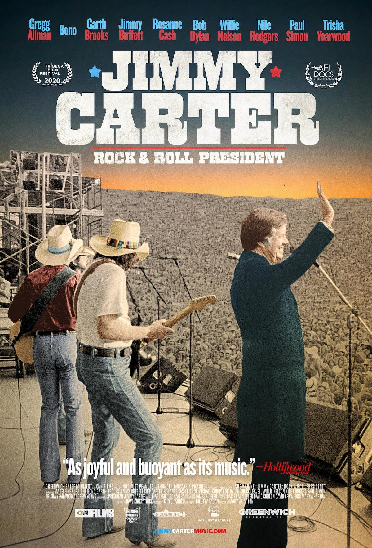 Poster for Jimmy Carter: Rock and Roll President