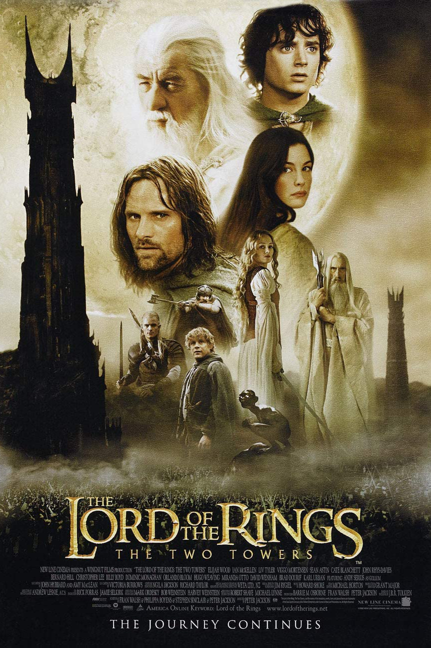 Poster for The Lord of the Rings: The Two Towers (2002) (35mm)