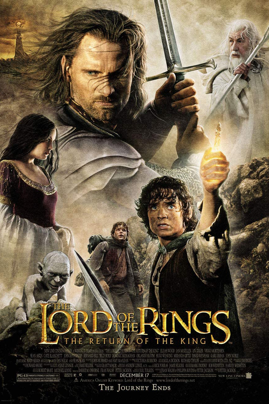 Poster for The Lord of the Rings: The Return of the King (2003)