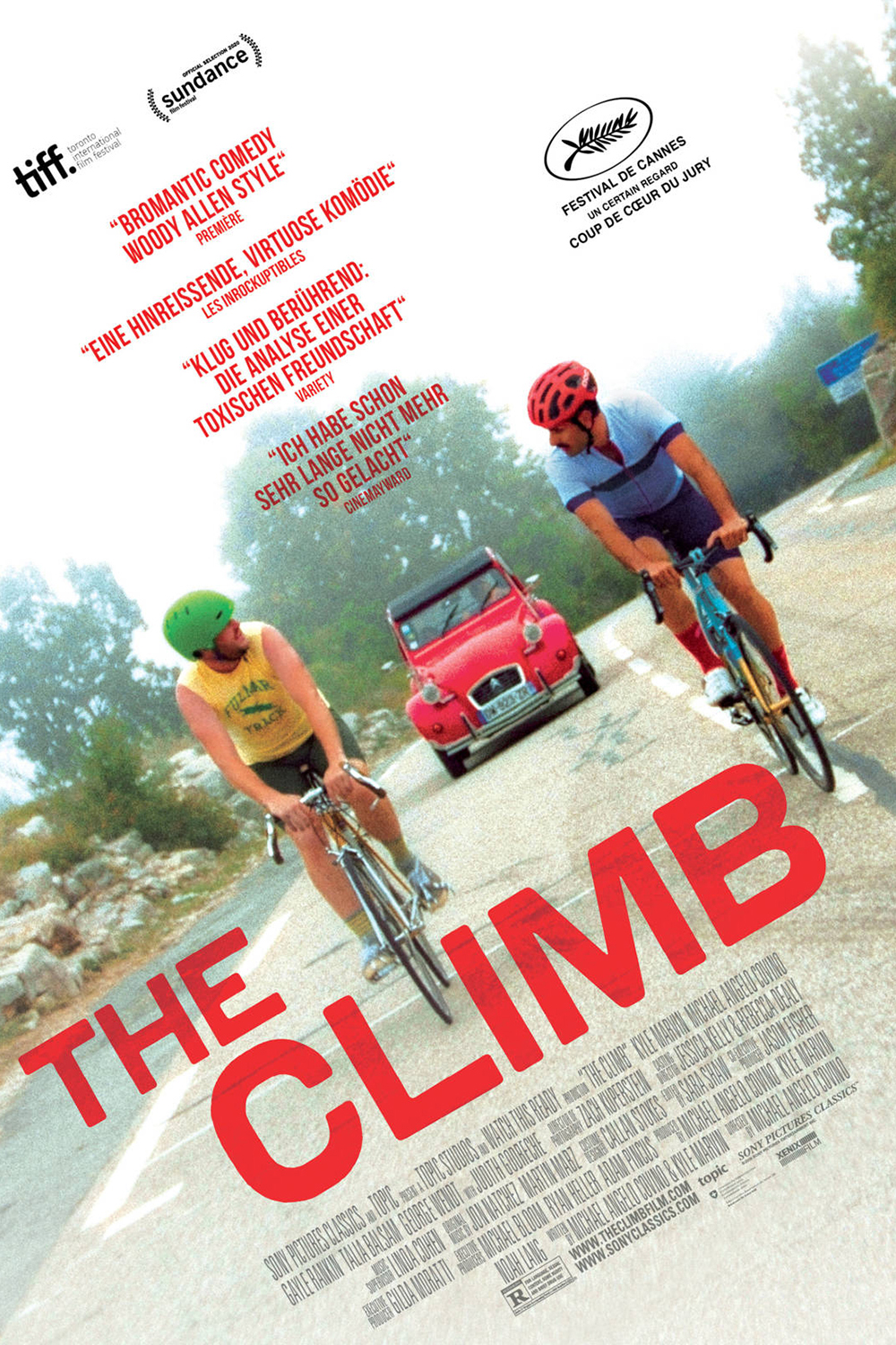Poster for The Climb (2019)