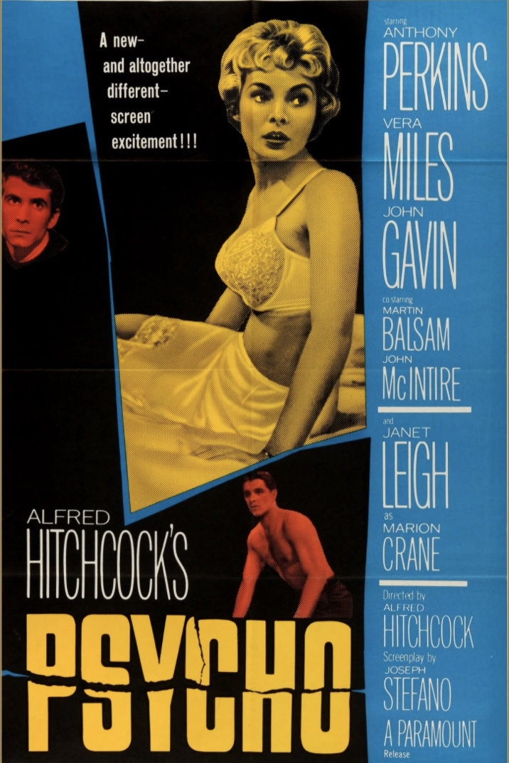 Poster for Psycho (1960)