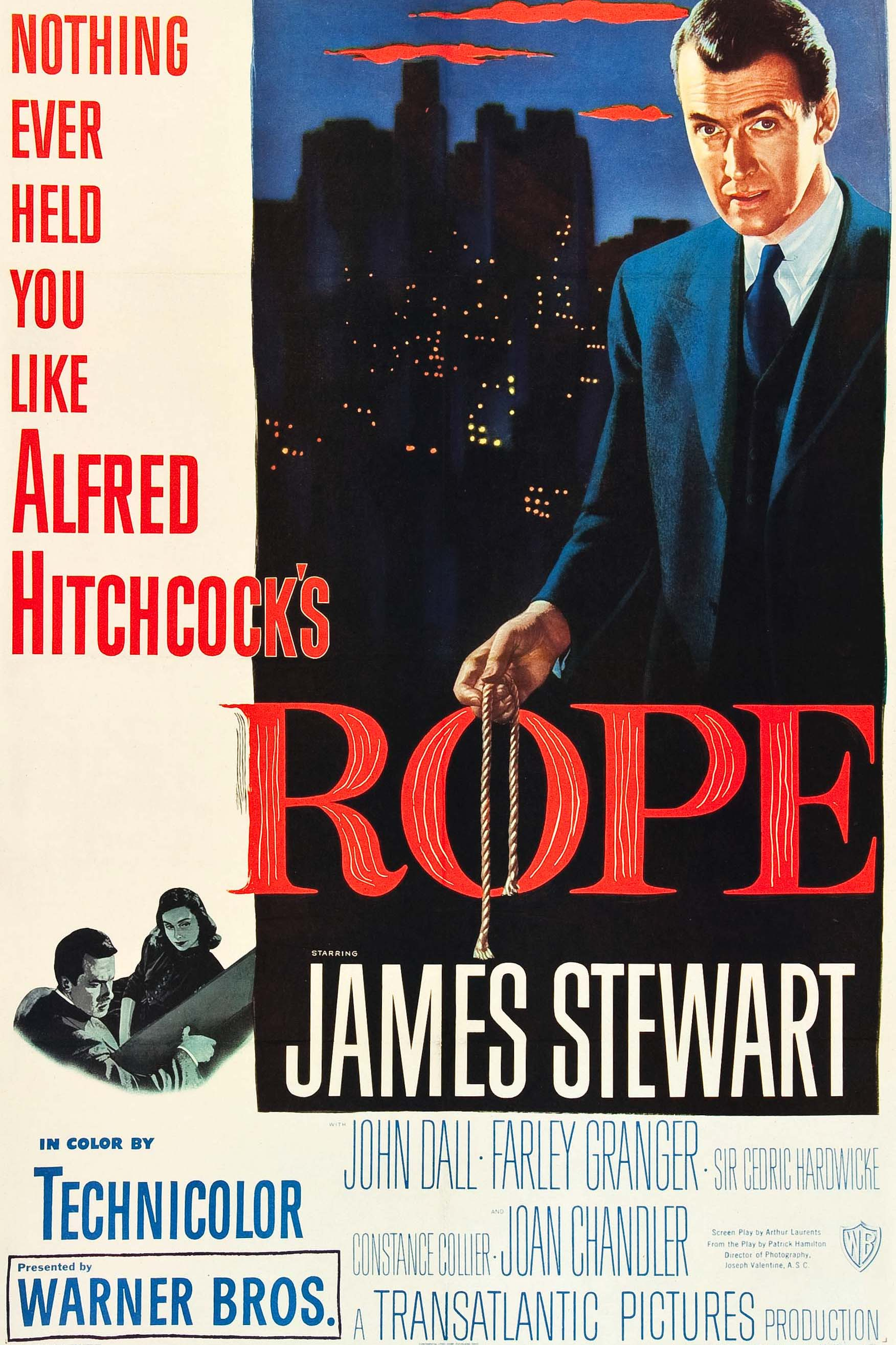 Poster for Rope (1948)