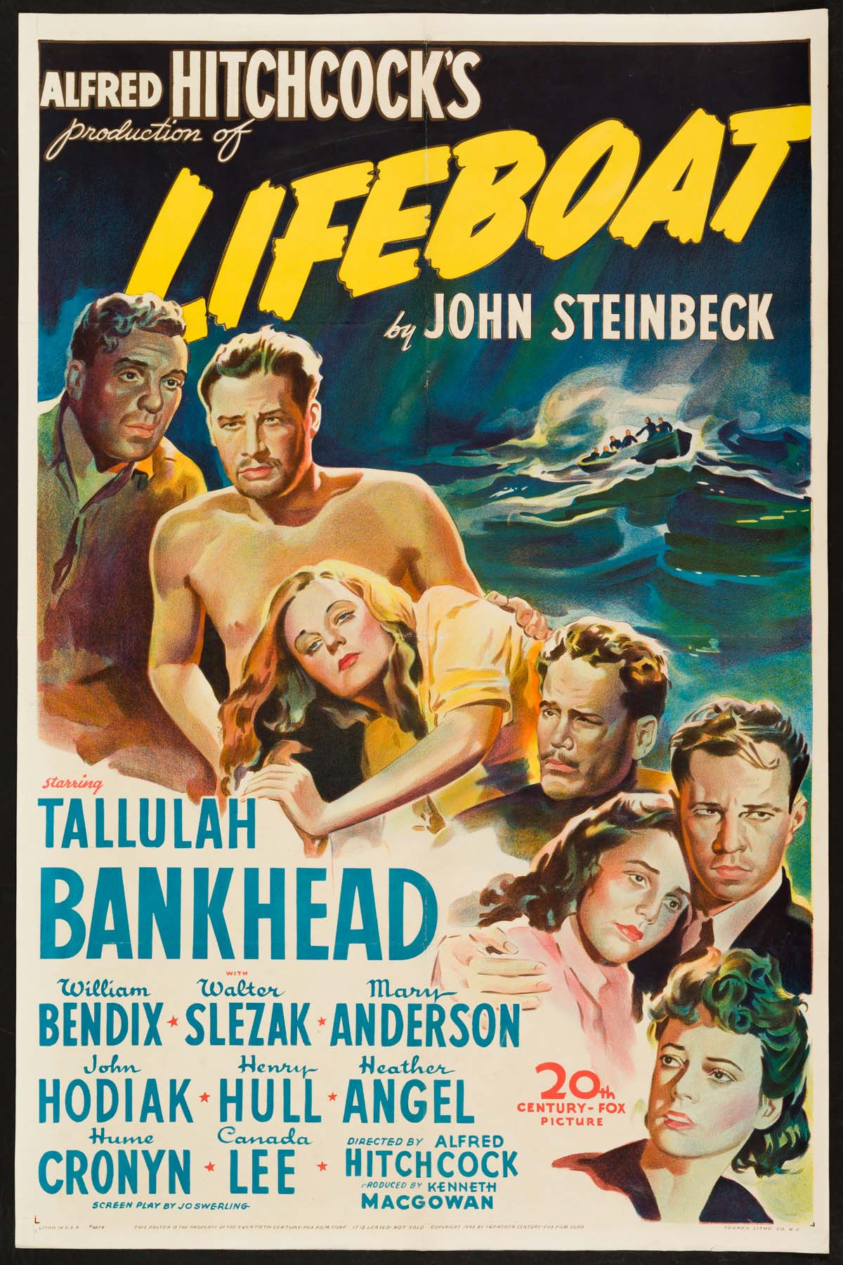 Poster for Lifeboat (1944)