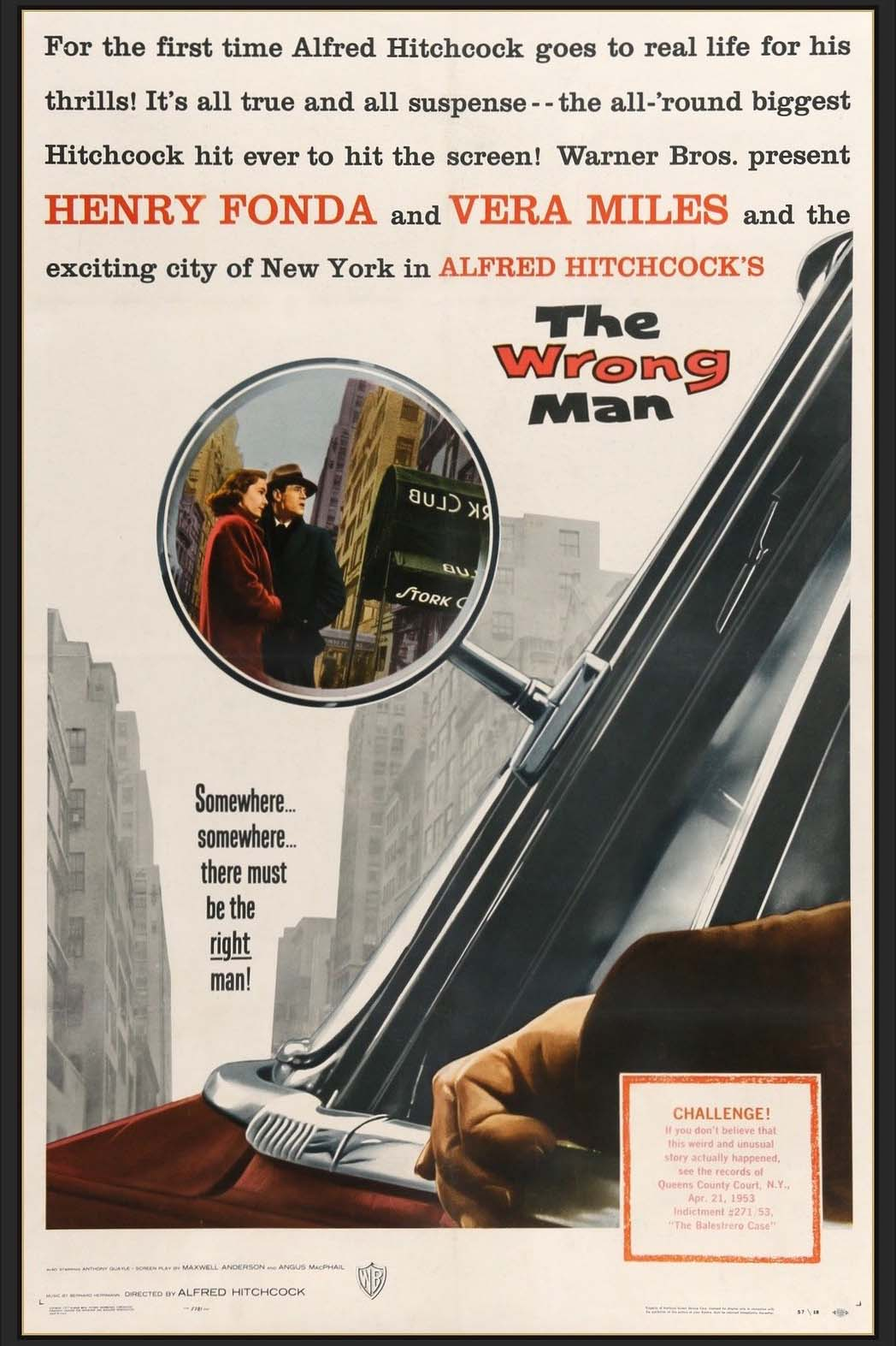 Poster for The Wrong Man (1956)