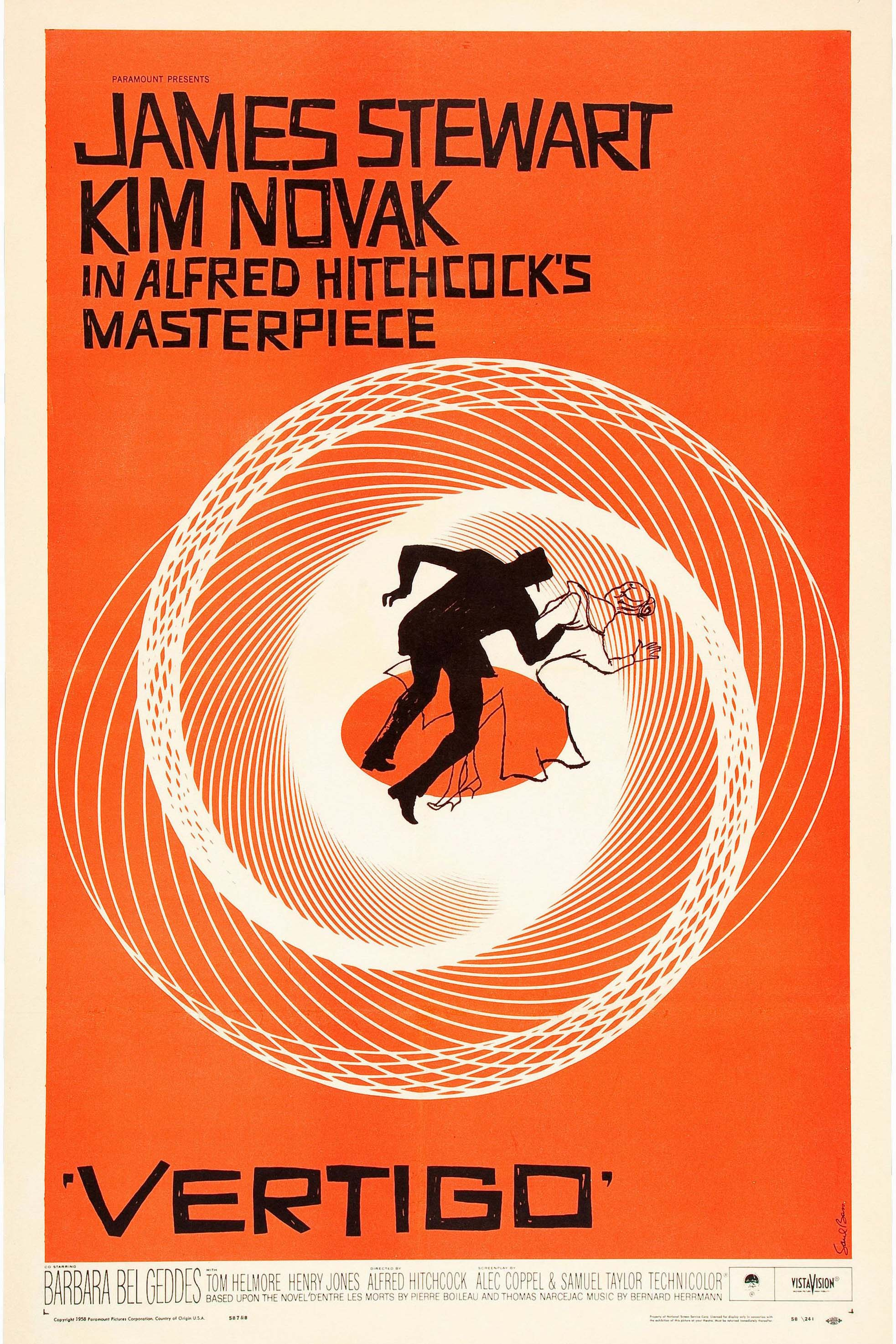 Poster for Vertigo (1958)