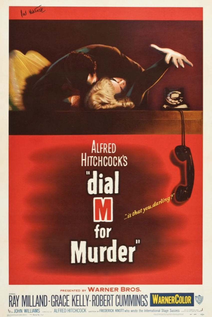 Poster for Dial M for Murder (3D) (1954)