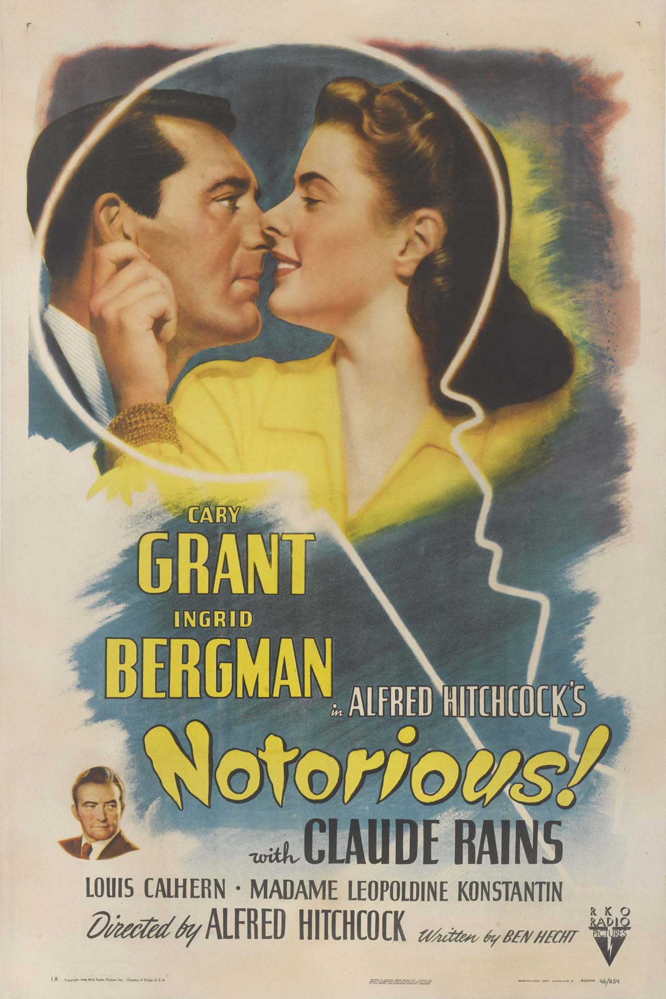 Poster for Notorious (1946) (35mm)