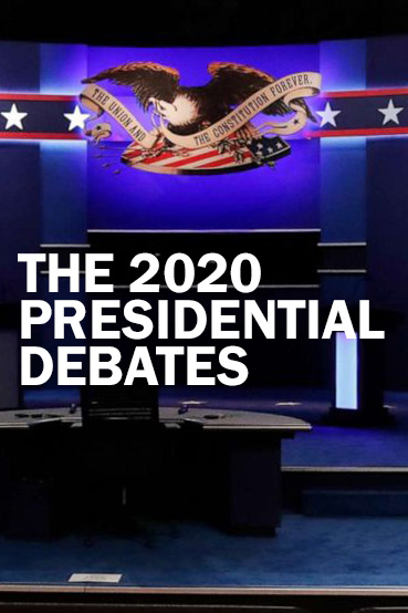 Poster for 2020 Presidential Debates