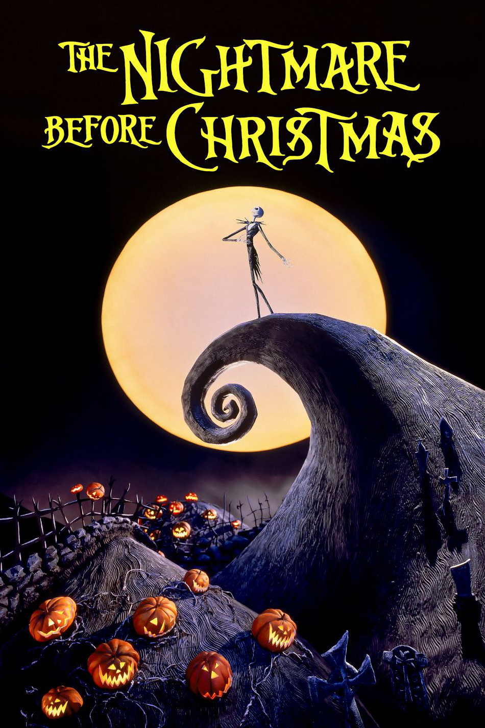 Poster for The Nightmare Before Christmas (1993)