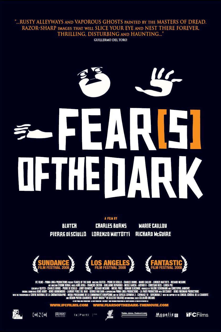 Poster for Fright Club: Fear(s) of the Dark (2007)