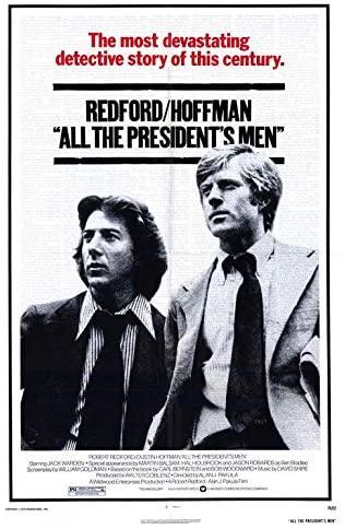 Poster for All the President's Men (1976)