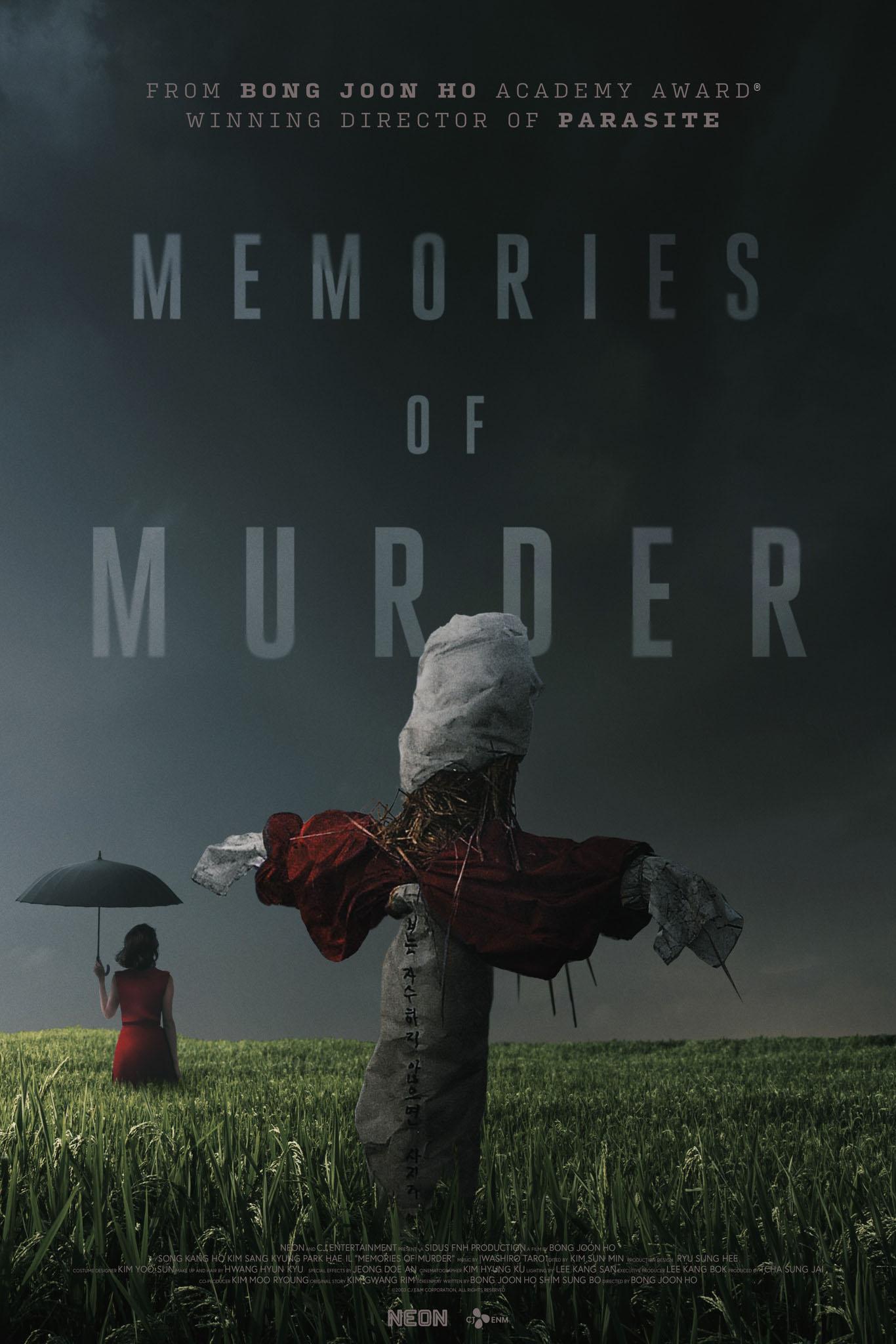 Poster for Memories of Murder (2003)