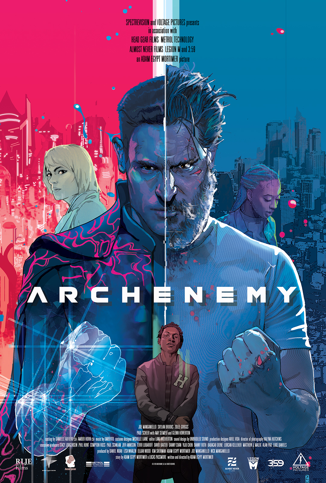 Poster for Archenemy