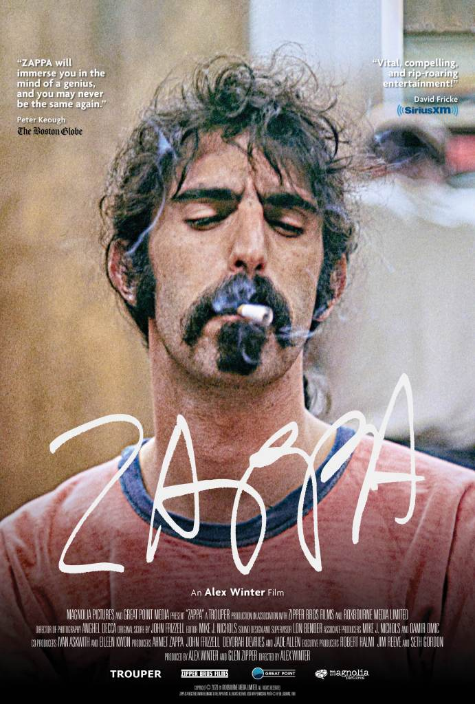 Poster for Zappa