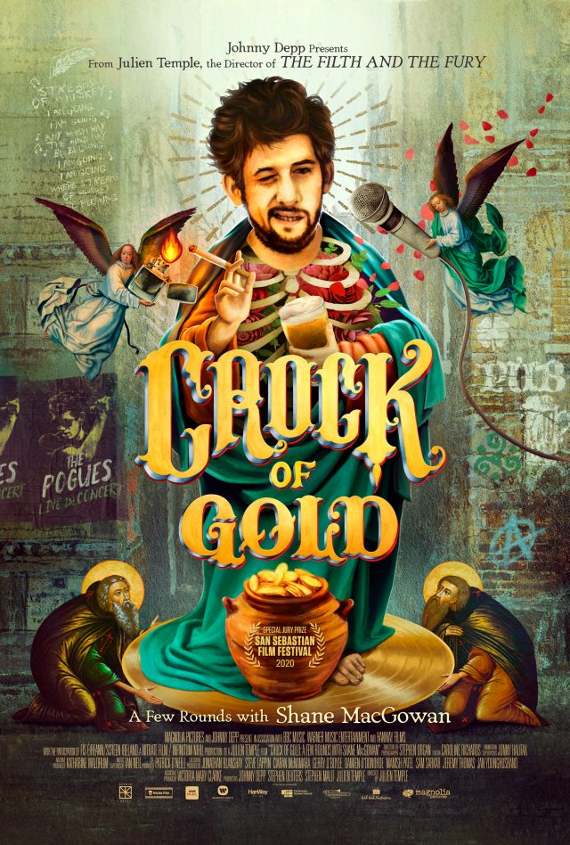 Poster for Crock of Gold: A Few Rounds with Shane MacGowan