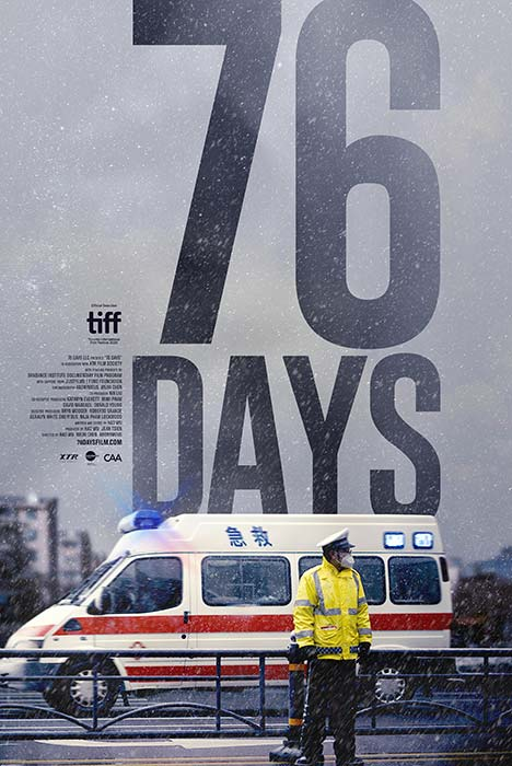 Poster for 76 Days