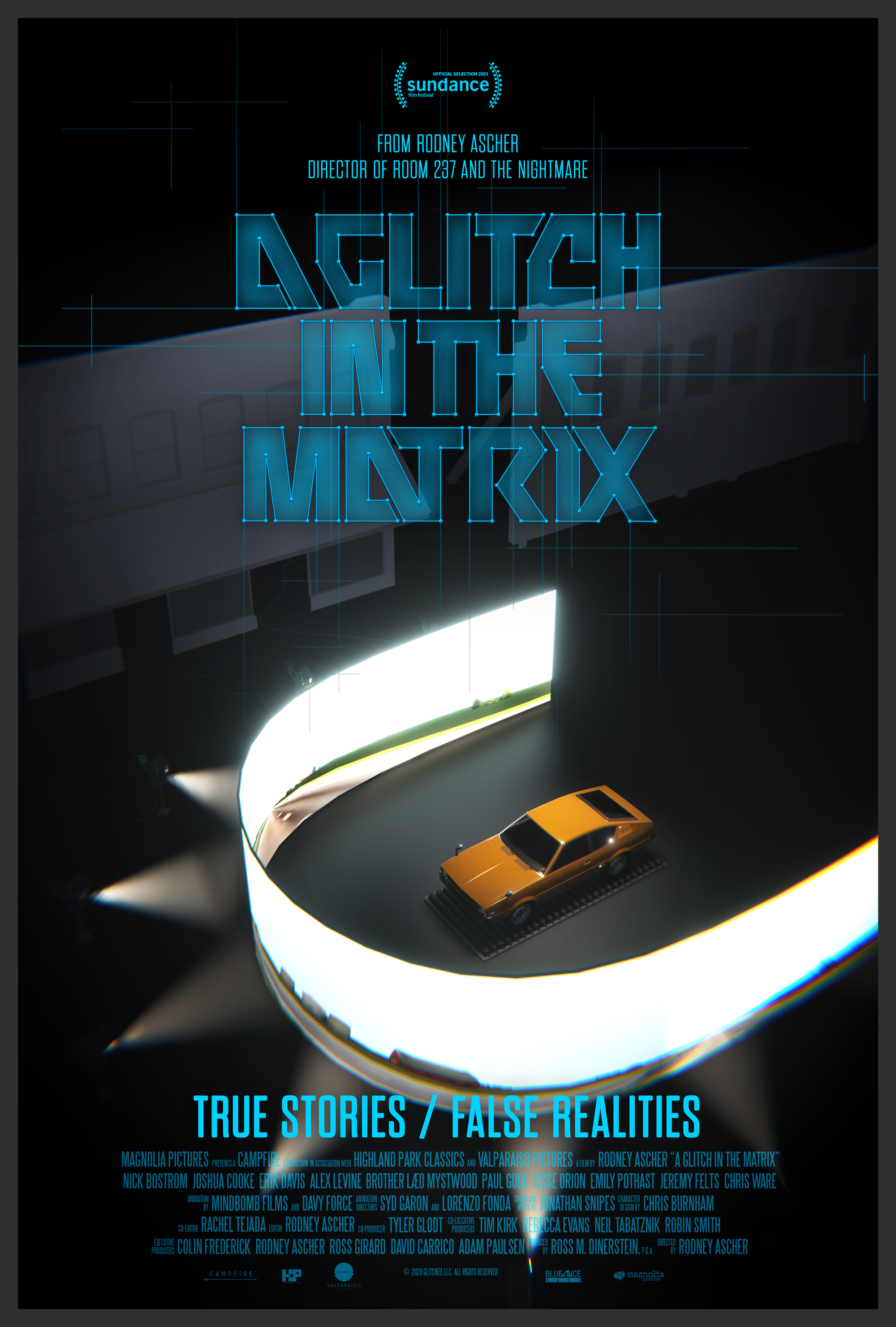 Poster for A Glitch in the Matrix (2020)