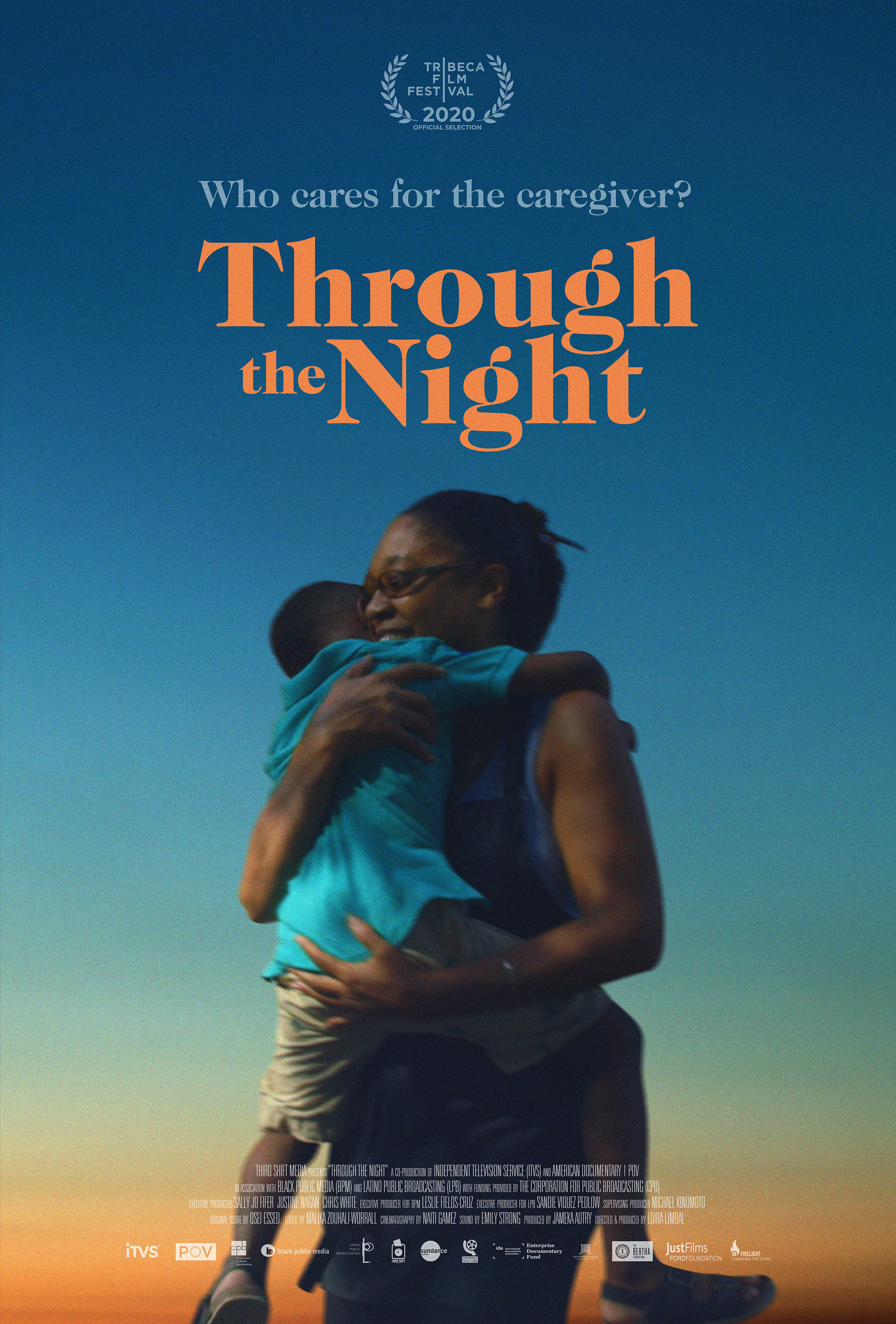 Poster for Through the Night (2020)