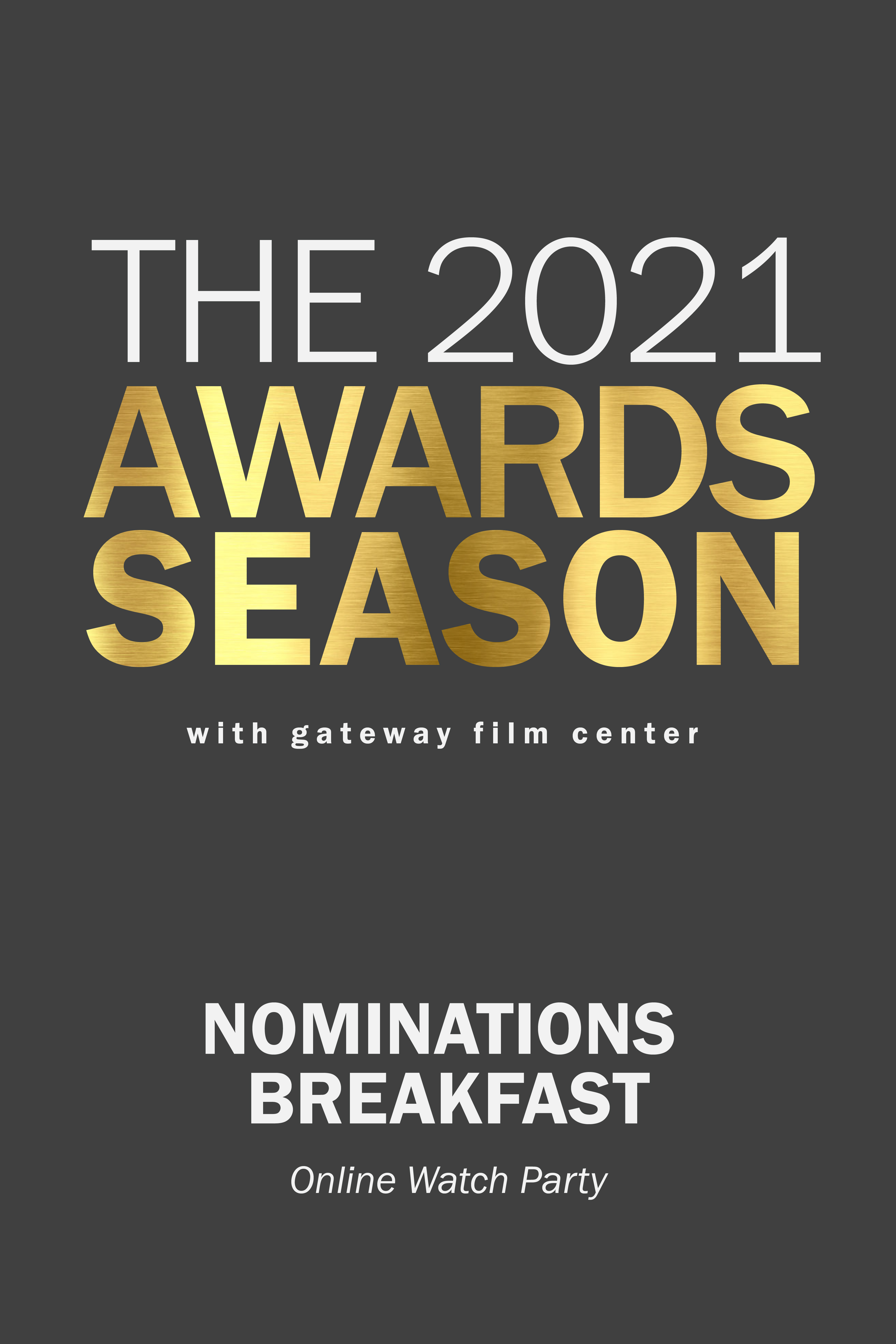 Poster for 2021 Nominations Breakfast