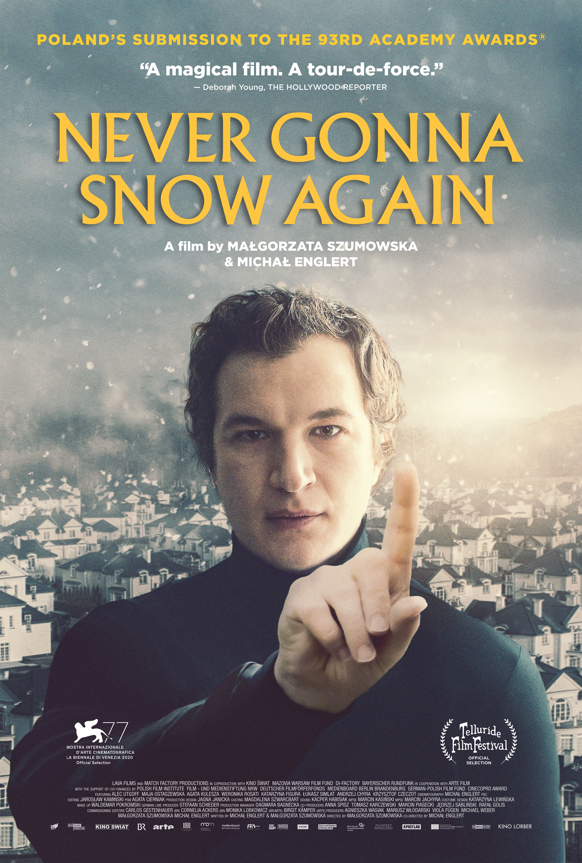 Poster for Never Gonna Snow Again (2021)