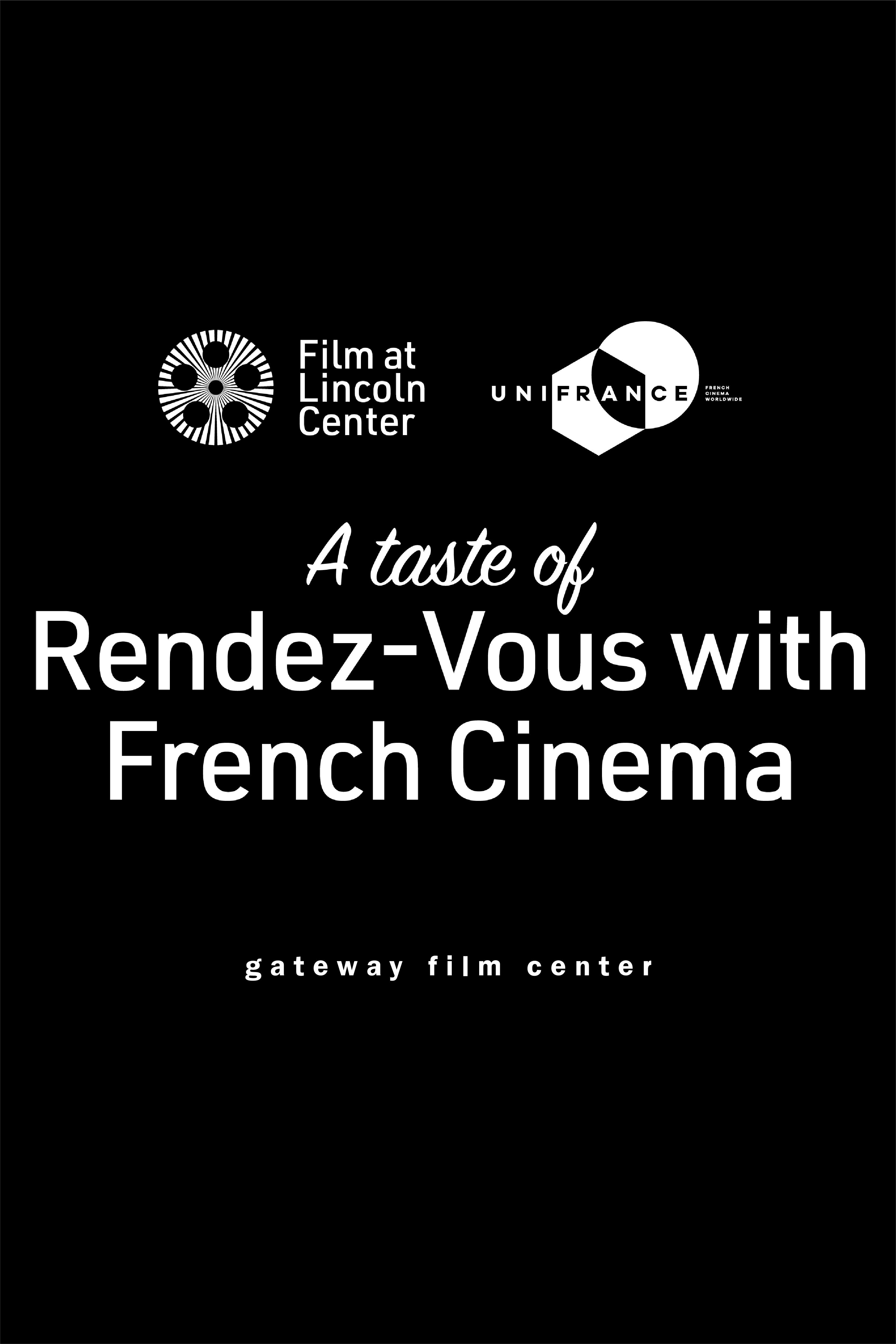 Poster for The 26th Edition of Rendez-Vous with French Cinema