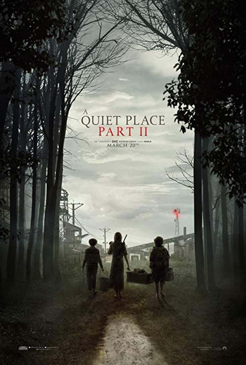 Poster for A Quiet Place Part II (2021)