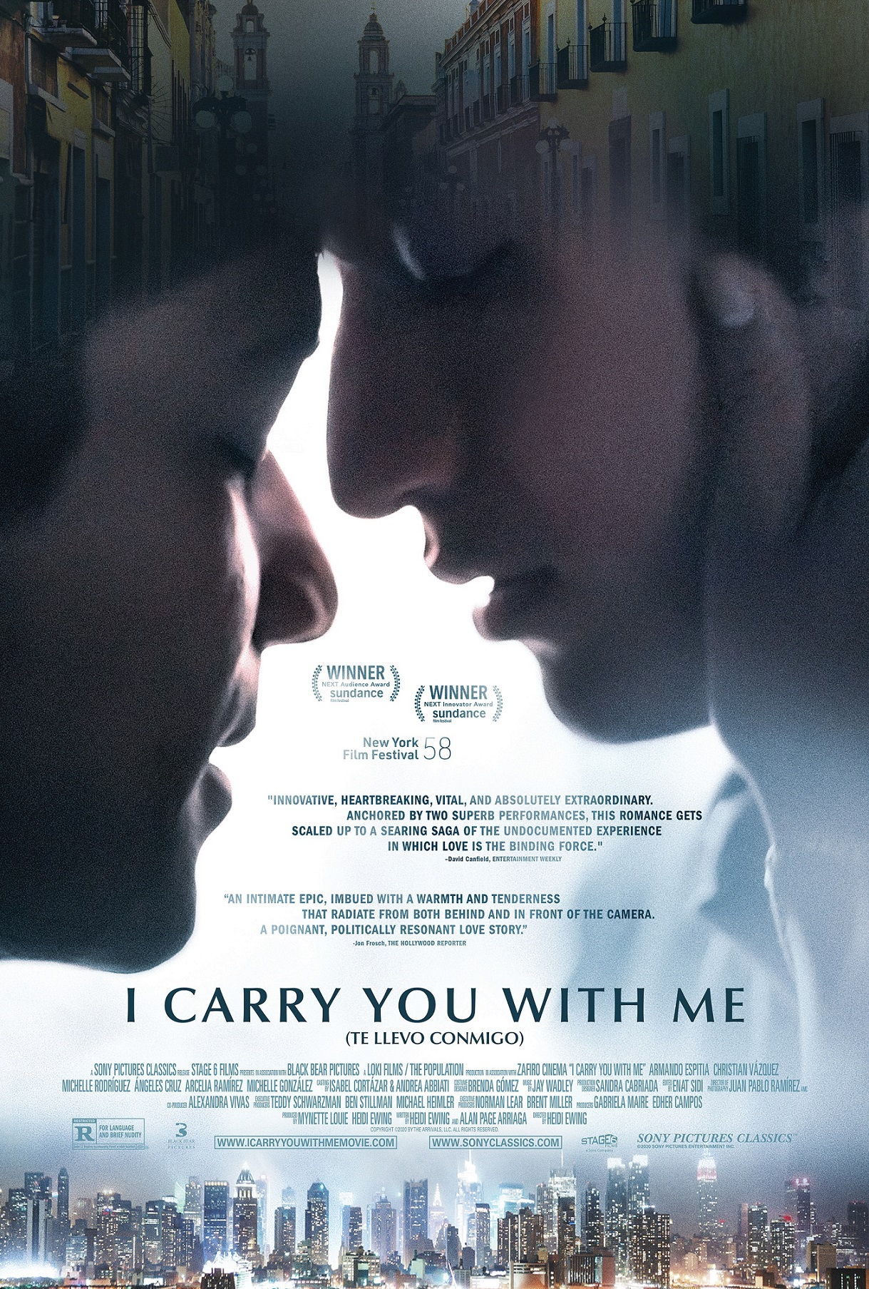 Poster for I Carry You With Me (2021)