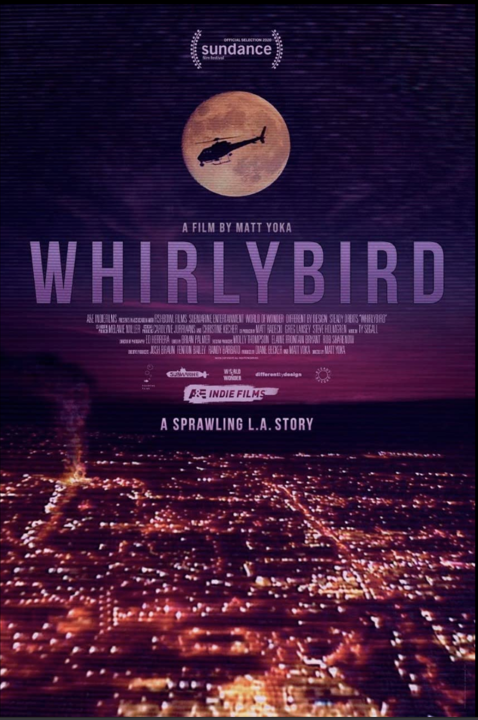 Poster for Whirlybird