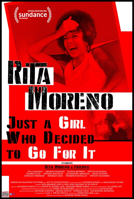 Poster for Rita Moreno: Just a Girl Who Decided to Go for It