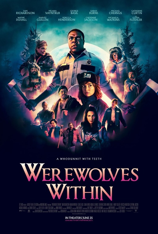 Poster for Werewolves Within