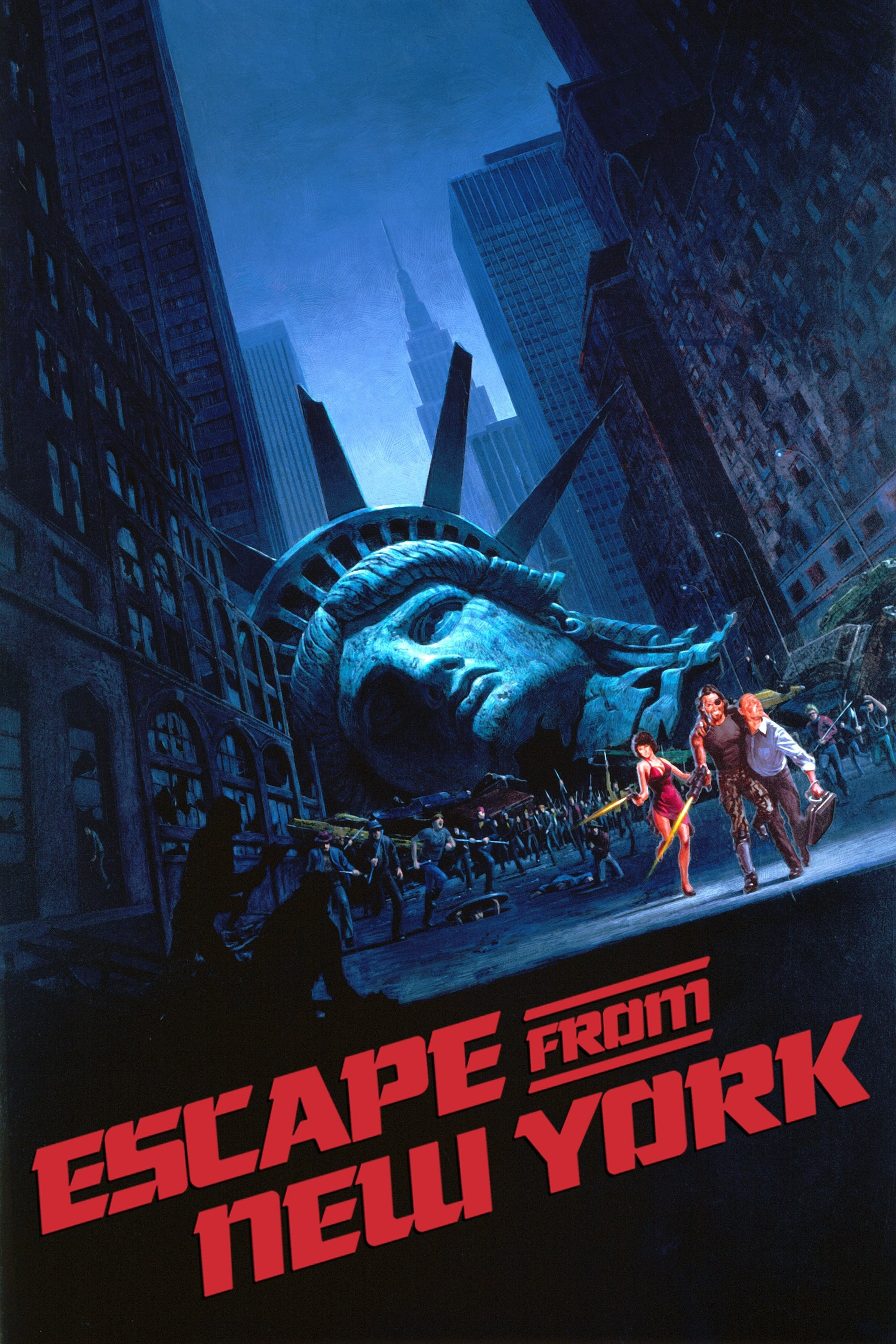 Poster for Escape From New York (1981) – 4K Restoration
