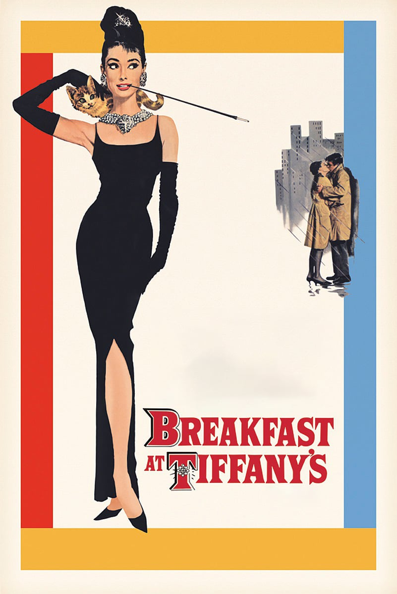Poster for Breakfast at Tiffany's (1961) in 35mm