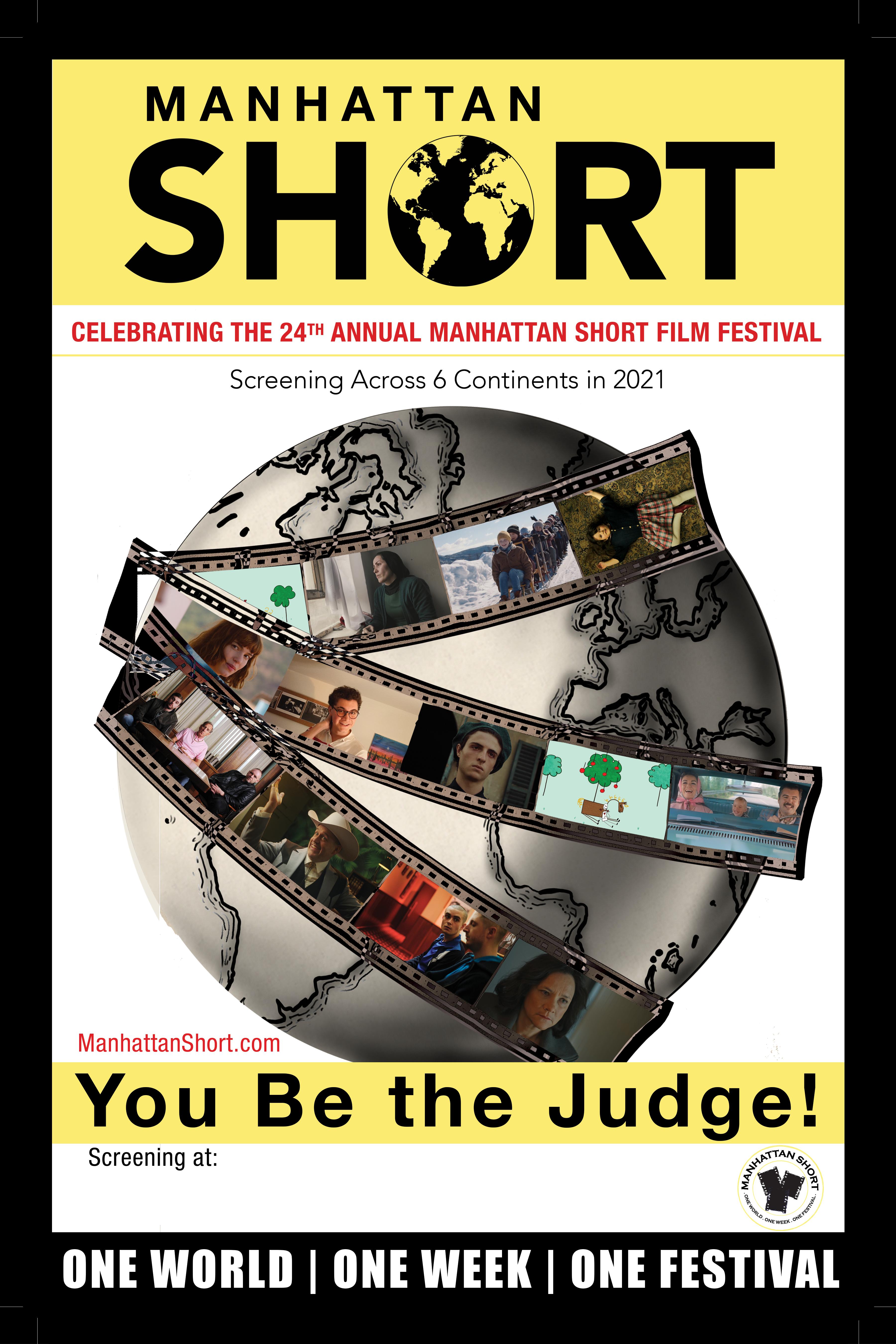 Poster for Manhattan Short Film Festival 2021