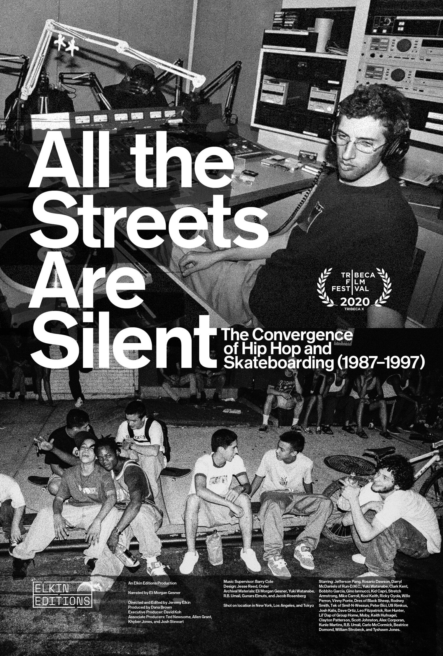 Poster for All the Streets Are Silent (2021)