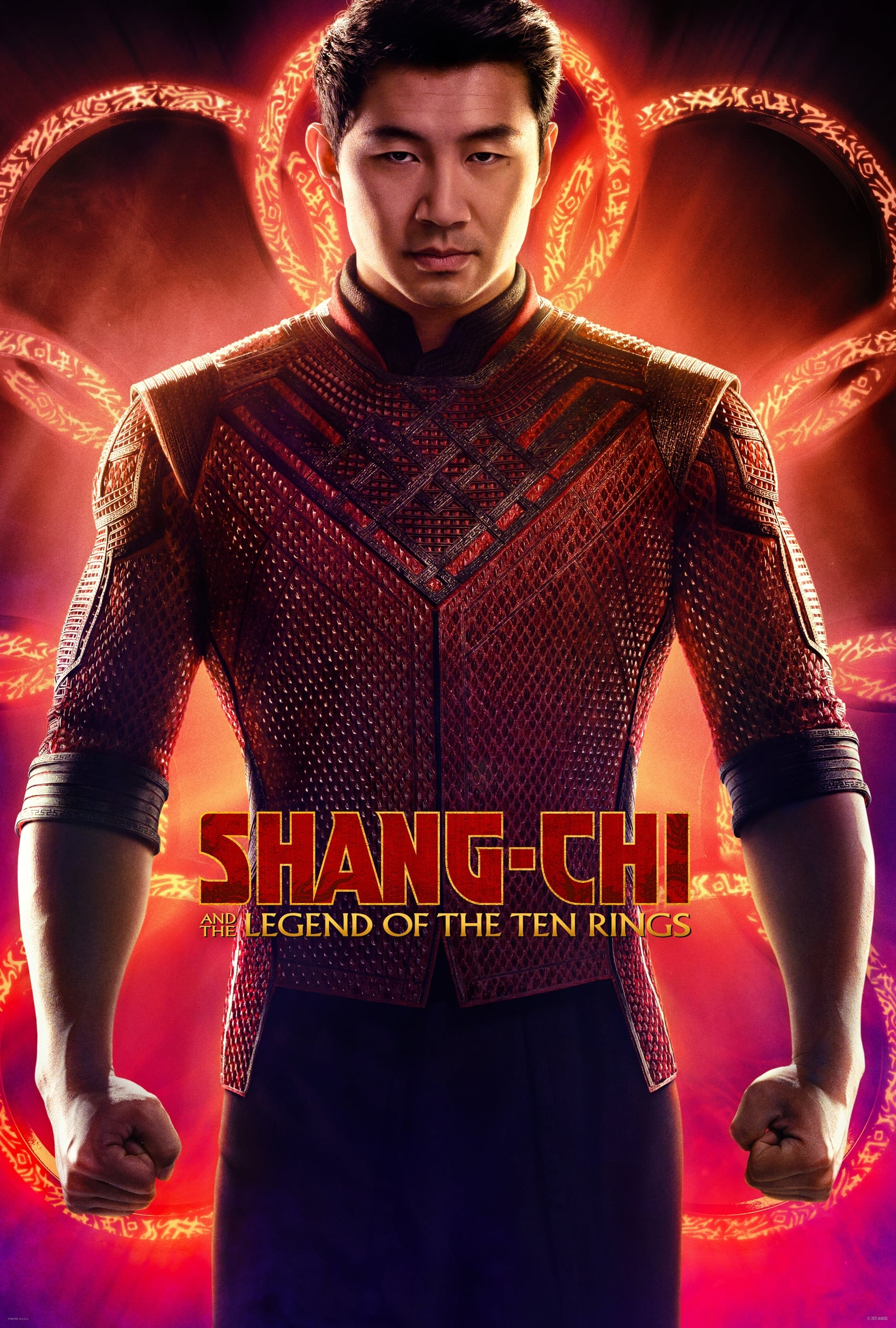 Poster for Shang-Chi and the Legend of the Ten Rings (2021)