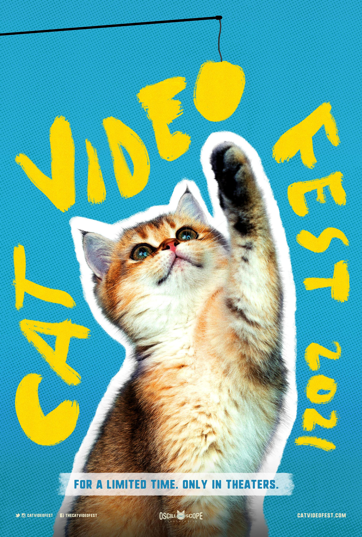 Poster for CatVideoFest 2021
