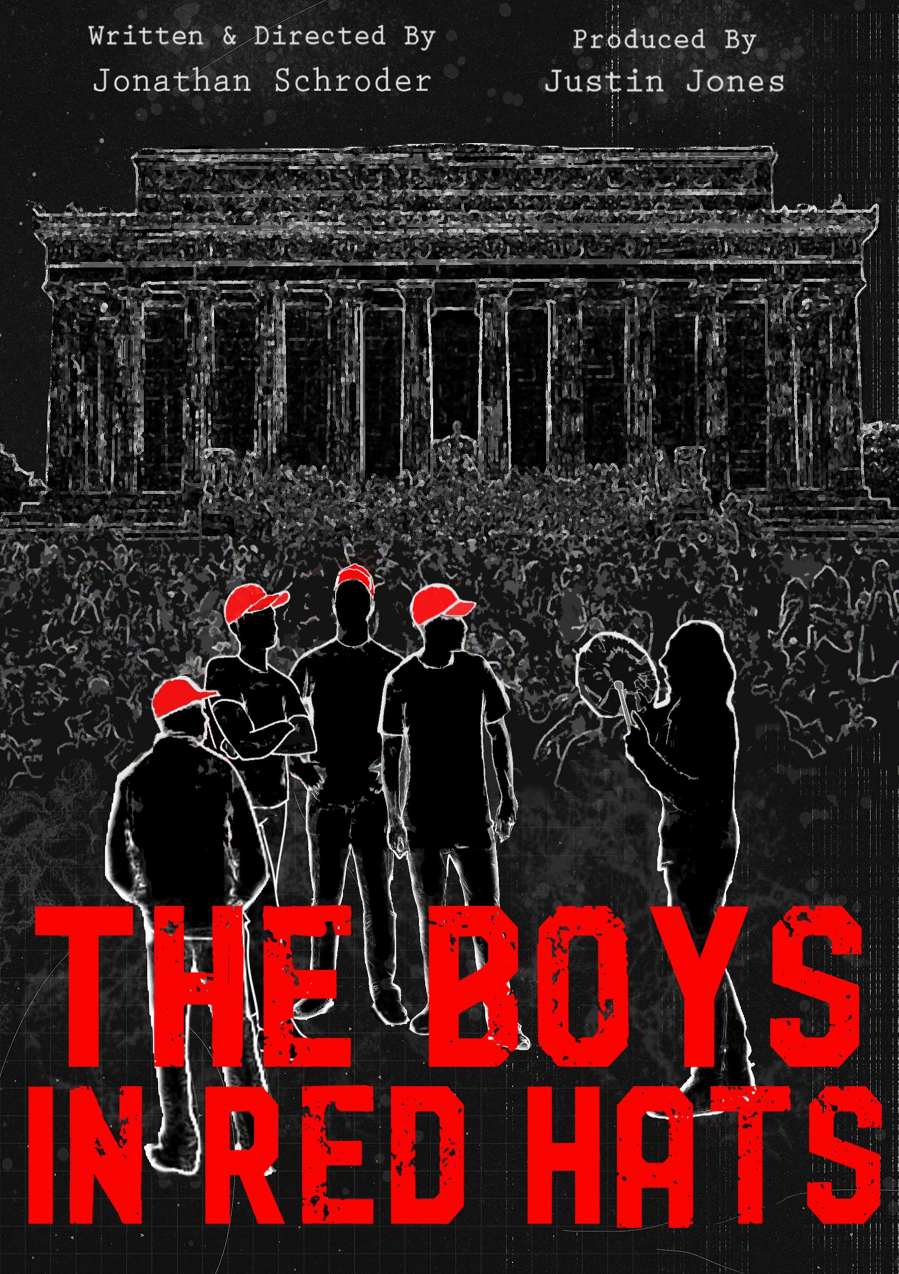 Poster for The Boys in Red Hats (2021)