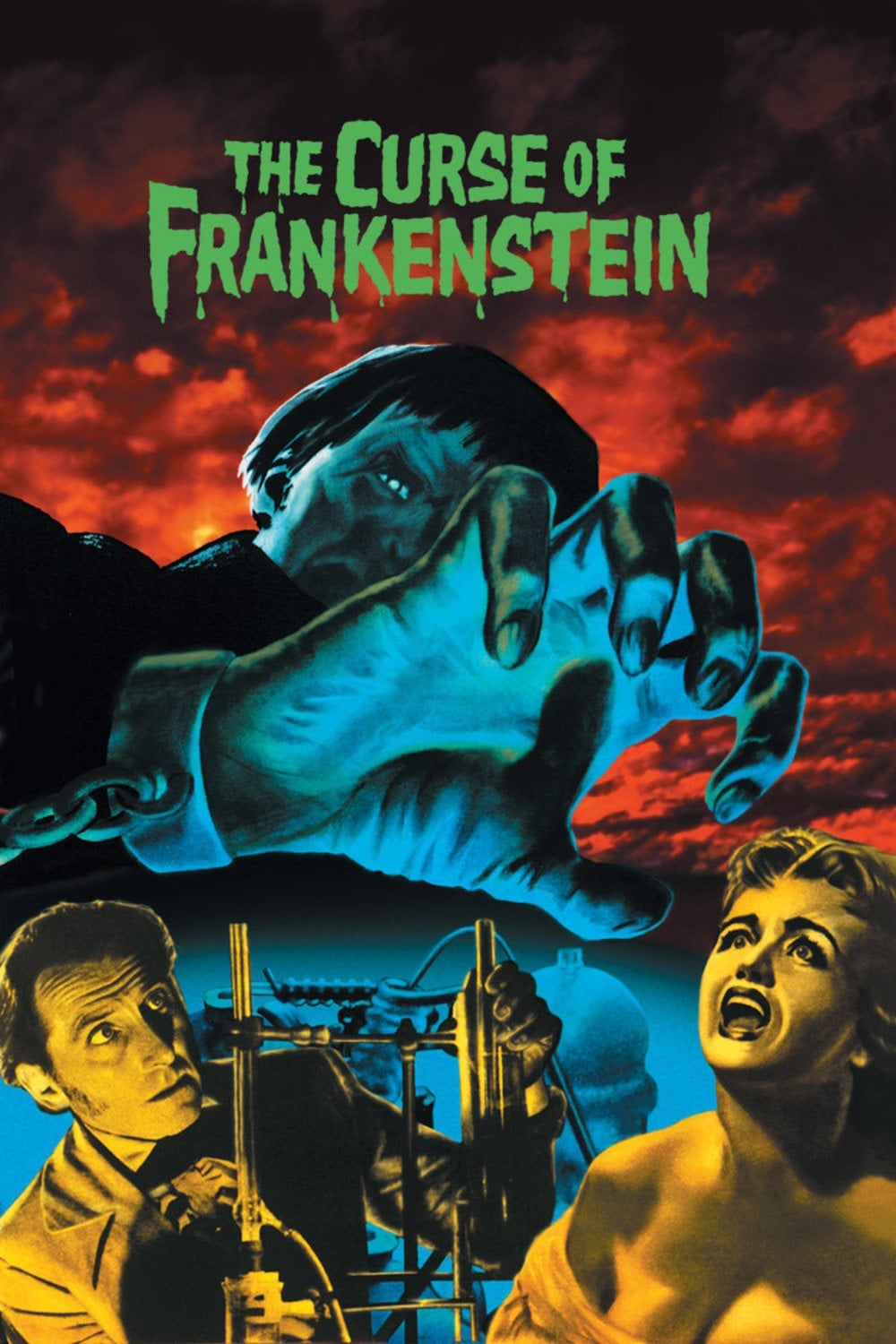Poster for The Curse of Frankenstein (1958)