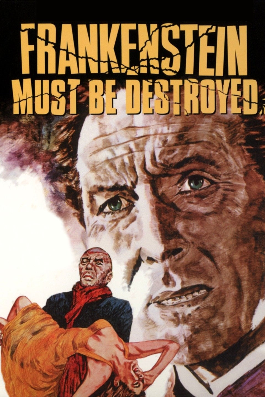 Poster for Frankenstein Must Be Destroyed (1969)