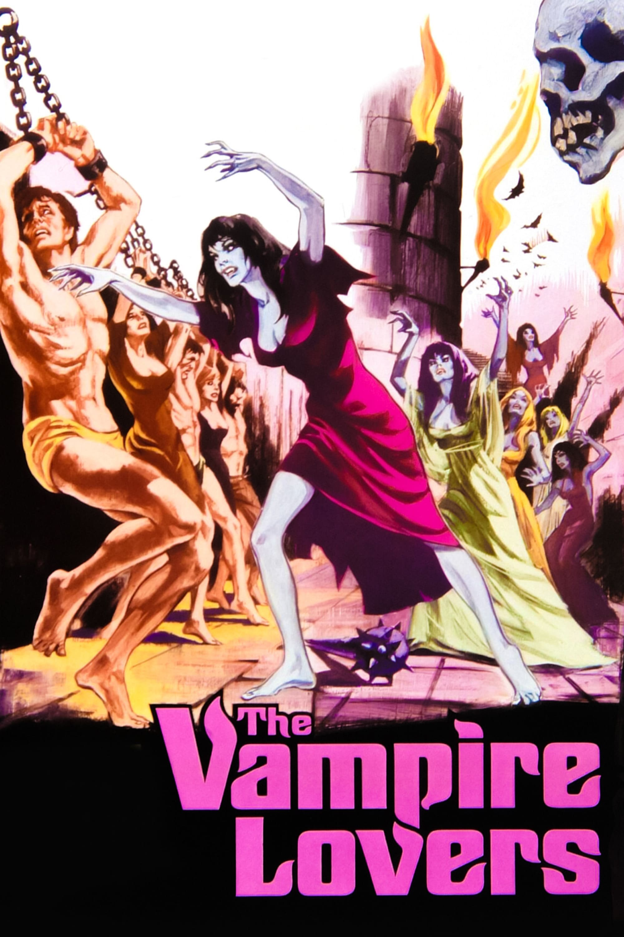 Poster for The Vampire Lovers (1970)