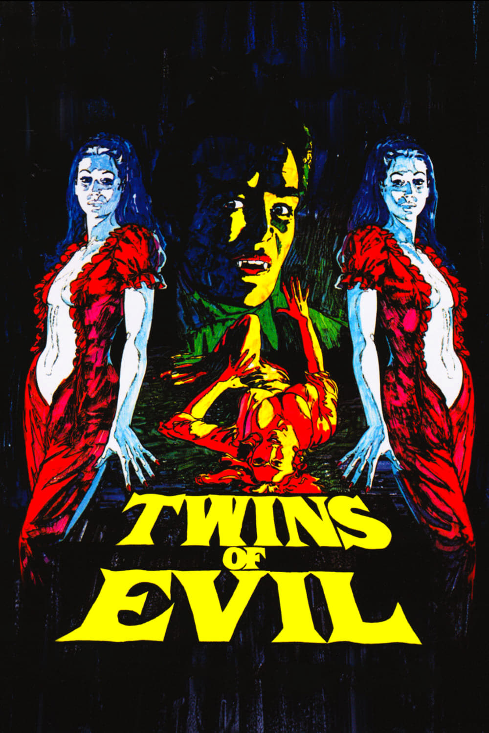 Poster for Twins of Evil (1971)