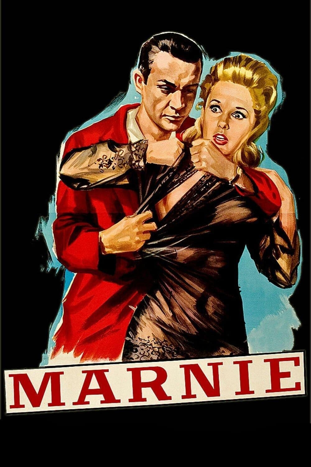 Poster for Marnie (1964)