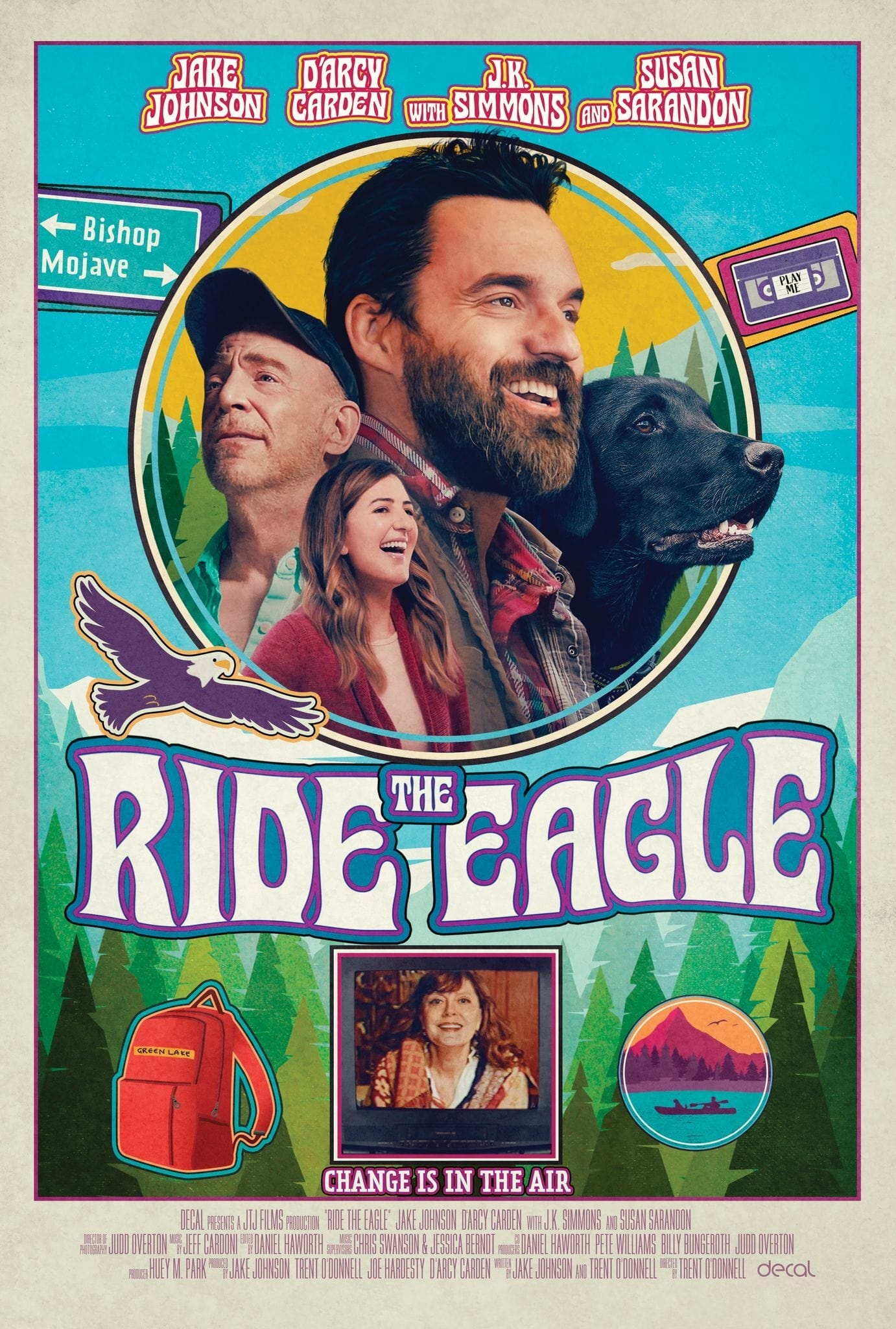 Poster for Ride the Eagle