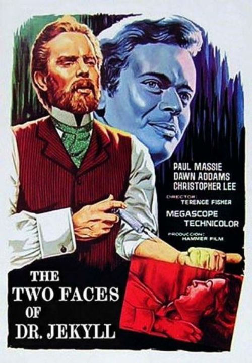 Poster for The Two Faces of Dr. Jekyll (1960)
