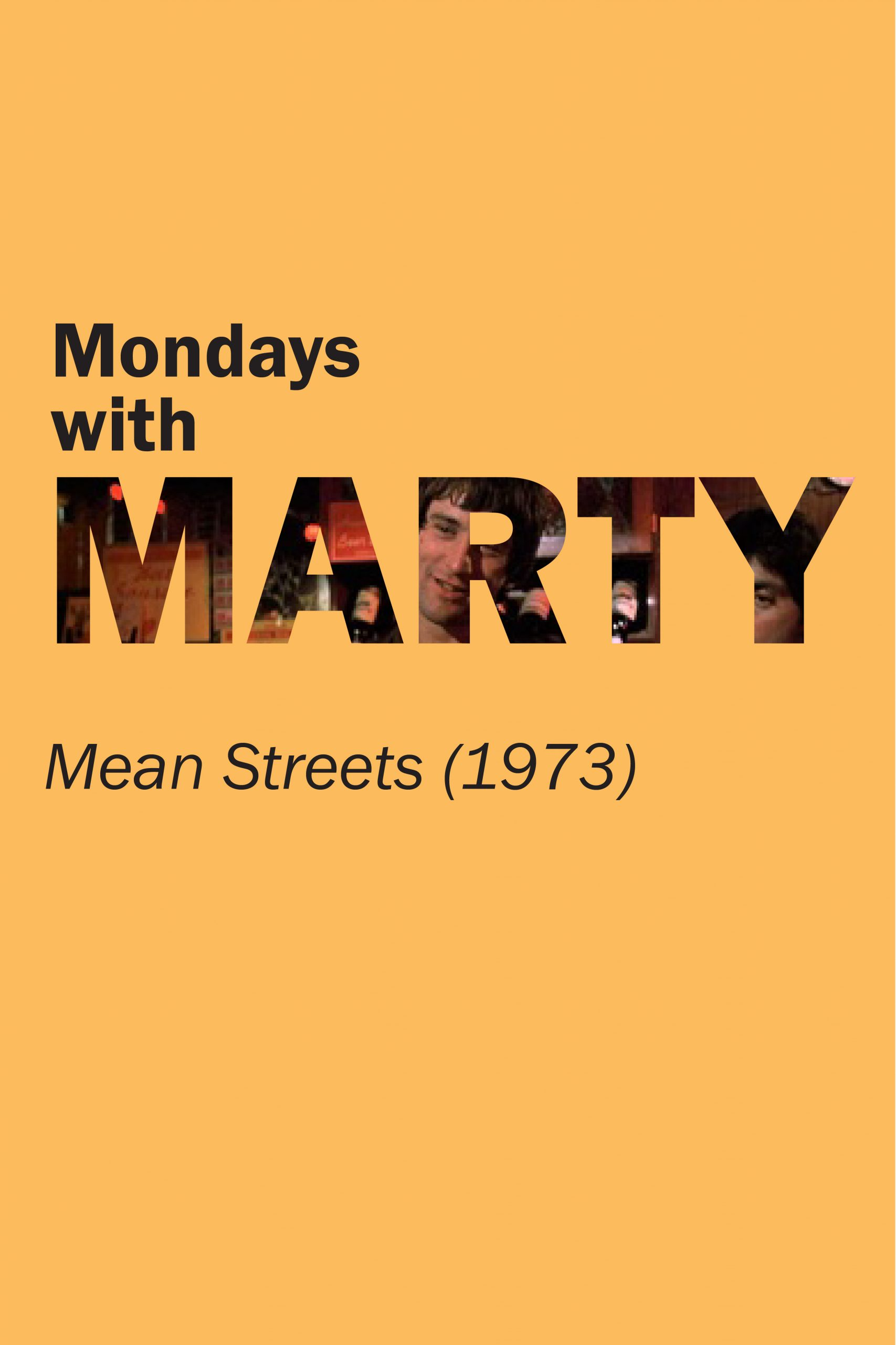 Poster for Mean Streets (1973)