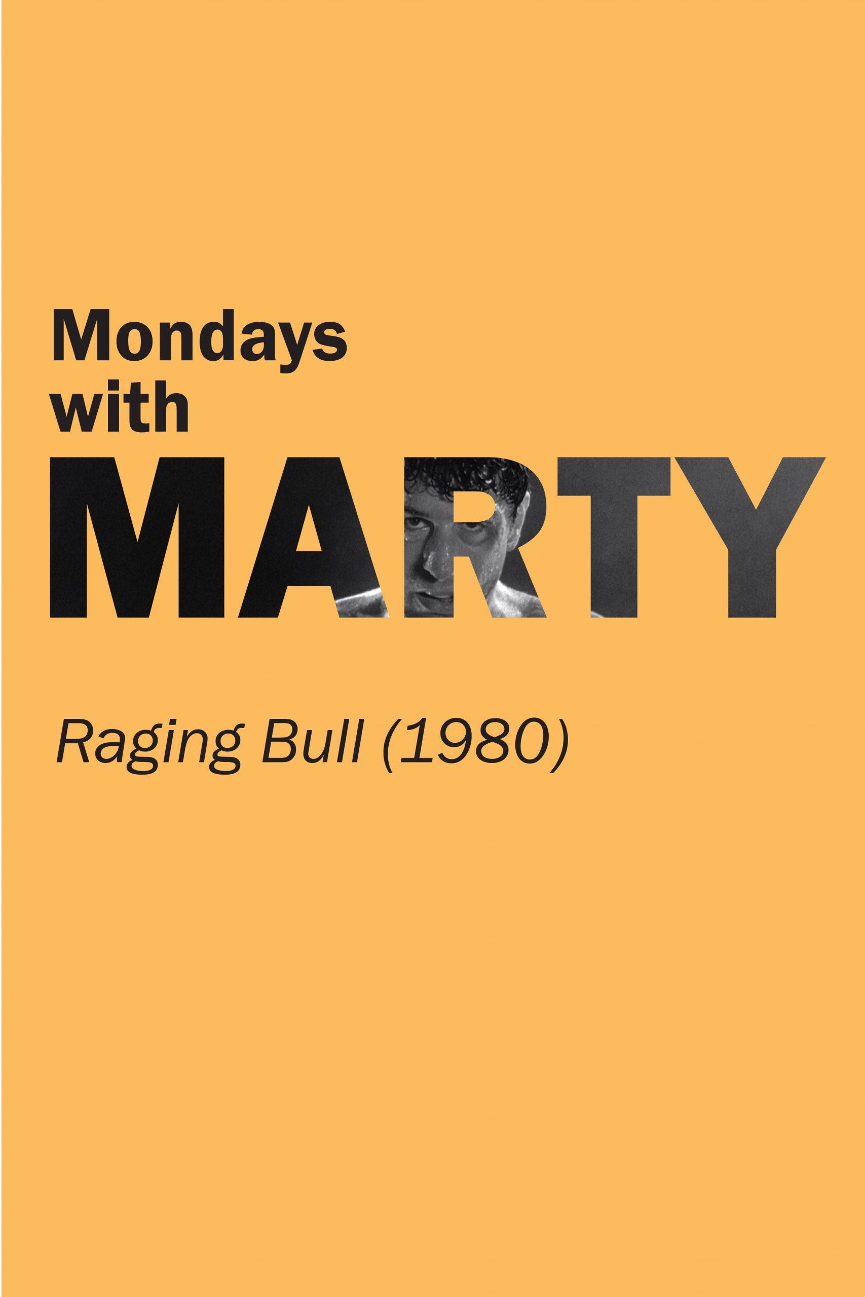 Poster for Raging Bull (1980)
