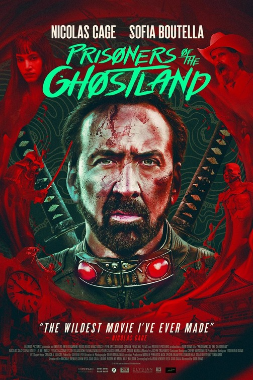 Poster for Prisoners of the Ghostland (2021)