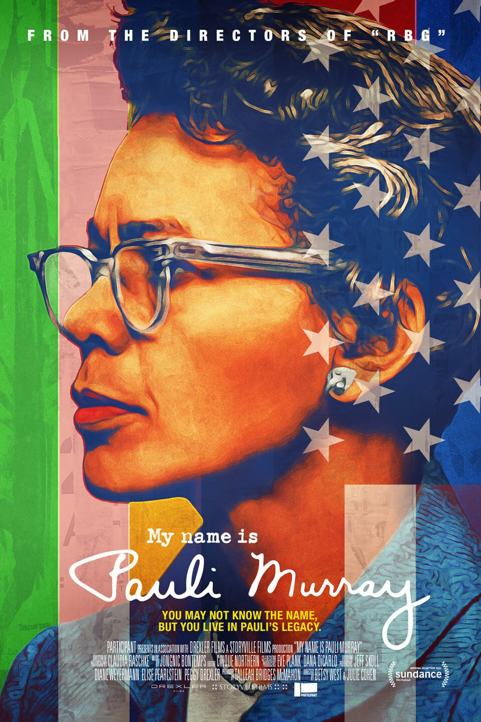 Poster for My Name Is Pauli Murray